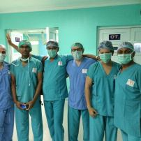 Surgical team from Neverest trip 2016