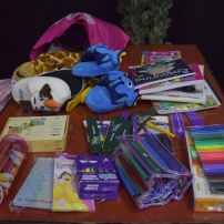 Gifts for the orphanage