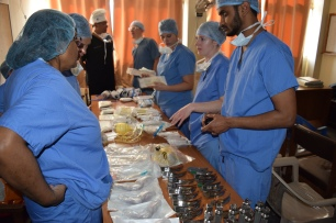 Donation of anaesthetic equipment