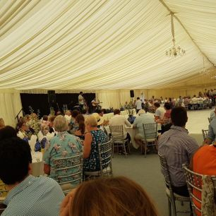 Charity luncheon at Repton School